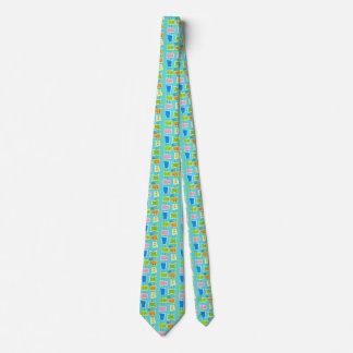 Retro Atomic Kitsch Tie