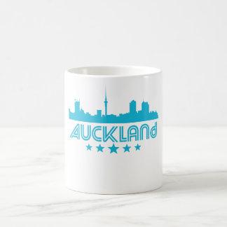 Retro Auckland Skyline Coffee Mug