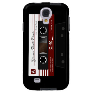 Retro Audio Cassette Tape Samsung S4 Case