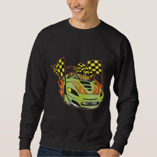 Retro Auto Racing Sweatshirt
