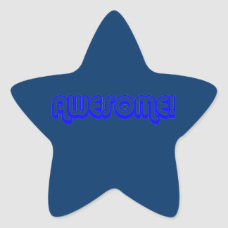 Retro Awesome! 80s Star Star Stickers