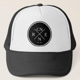 Retro Badge Trucker Hat