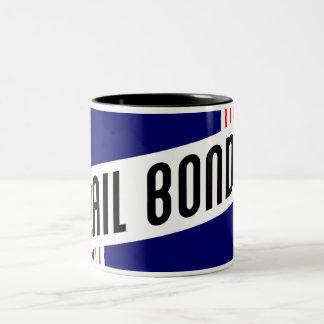 retro bail bonds coffee mug