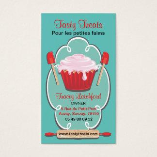 Retro bakery business cards
