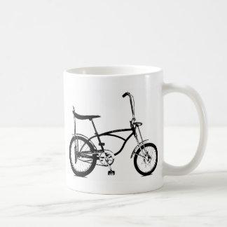 Retro Banana Seat Bike Basic White Mug