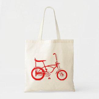 Retro Banana Seat Bike Budget Tote Bag