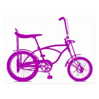 Retro Banana Seat Bike Postcard