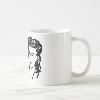 Retro Barfday Girl - Black & White Mugs