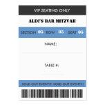 Retro Baseball Themed VIP Seating Ticket