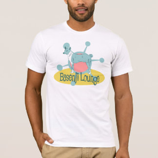 Retro Basenji Lounge T-Shirt
