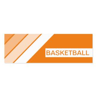 retro BASKETBALL Business Card Template