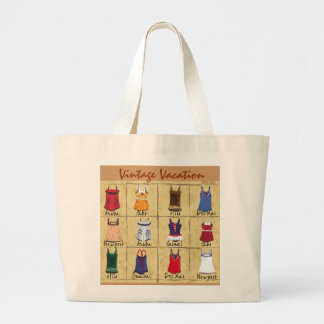Retro Bathing Suits- Tote Bags