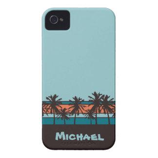 Retro Beach Personalized Case