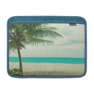 Retro Beach Theme MacBook Sleeve