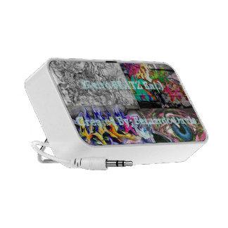 Retro Beats Portable Speaker