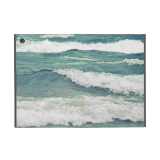 Retro Beautiful Lake Michigan Beach Surf Waves iPad Mini Covers