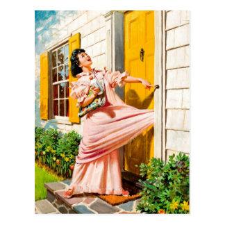 Retro Beauty 64 Postcard