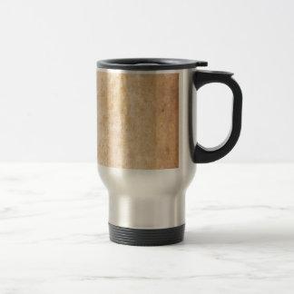 Retro Beige Grunge Pattern Coffee Mug