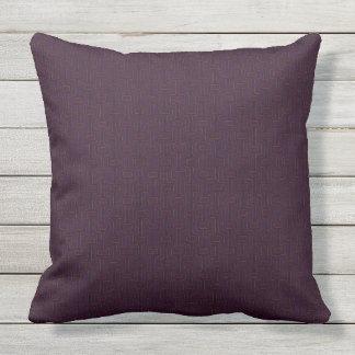 Retro Berry 2 Side Patio Throw Pillow