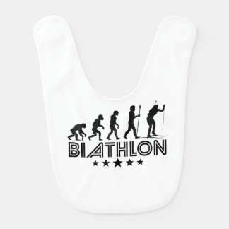 Retro Biathlon Evolution Bib