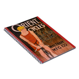 Retro Bicycle Ad 1890 Notebooks