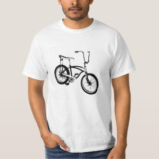 Retro Bicycle - Black T-Shirt