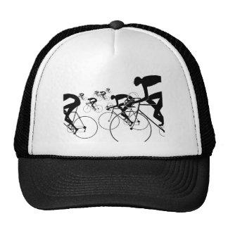 Retro Bicycle Silhouettes 1986 Cap