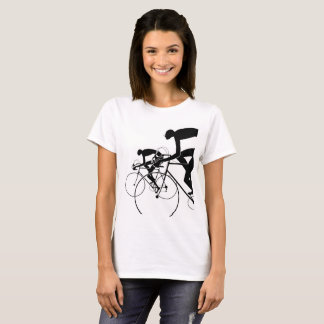 Retro Bicycle Silhouettes 2 1986 T-Shirt