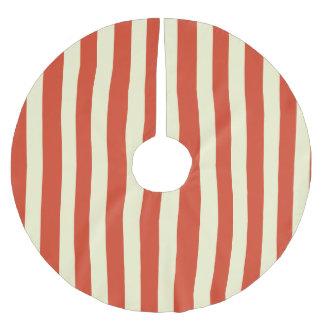 Retro Big Top Striped Christmas Tree Skirt