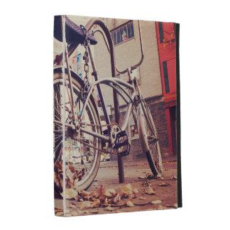Retro bike iPad cases
