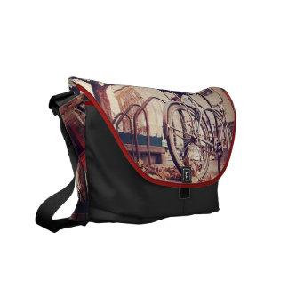 Retro bike commuter bags
