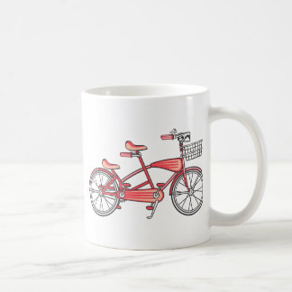 Retro Bike For Two Coffee Mug