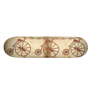 Retro Bike Skateboard