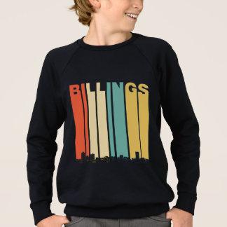 Retro Billings Montana Skyline Sweatshirt