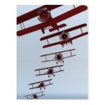 Retro Biplane Postcards