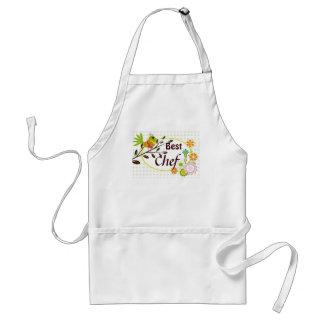 Retro Bird and Flowers Best Chef Apron