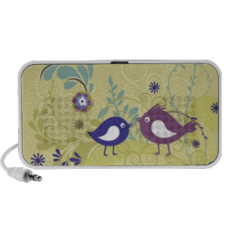Retro Birds Speaker