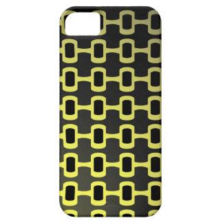Retro Black and Yellow iPhone 5 Case