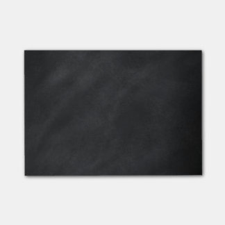 Retro Black Chalkboard Texture Post-it Notes