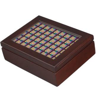 retro black keepsake box