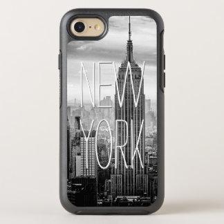 Retro Black White New York Skyscraper Landscape OtterBox Symmetry iPhone 7 Case