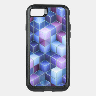 Retro Block Pattern OtterBox Commuter iPhone 8/7 Case