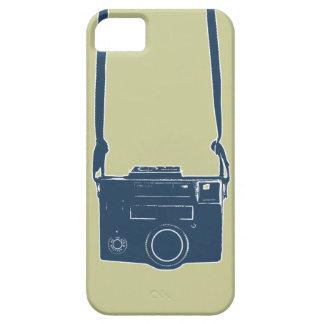 Retro Blue Film Camera iPhone 5 Tough Case