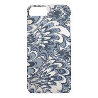 Retro Blue Ocean Waves iPhone 7 case