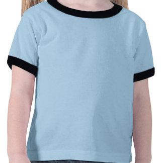 Retro Blue Orange and Green Third Birthday Shirt