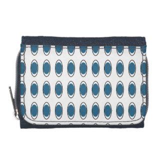 Retro-Blue-Peacock-Mod-Wallet's-Multi-Styles Wallets