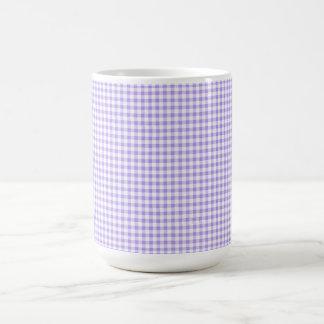 Retro-Blueberry-Gingham-Multi-Styles_Colors Coffee Mug