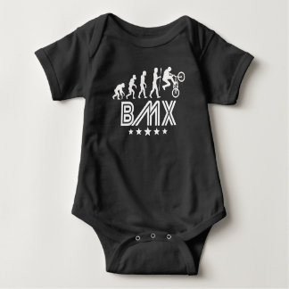 Retro BMX Evolution Baby Bodysuit