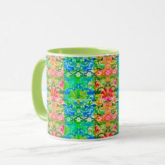 Retro Bohemian Stripes Coffee Mug