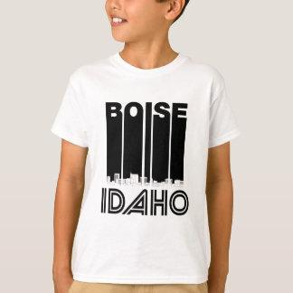 Retro Boise Idaho Skyline T-Shirt